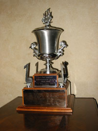 Barbershopper of the Year Trophy